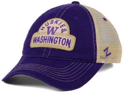 Washington Huskies Zephyr NCAA Route Trucker Cap