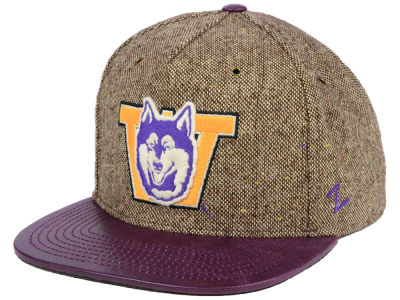 Washington Huskies Zephyr NCAA Legend Strapback Cap
