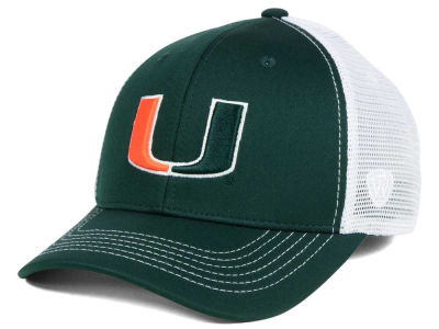 Miami Hurricanes Top of the World NCAA Ranger Adjustable Cap