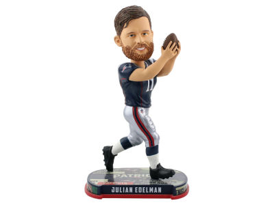 New England Patriots Julian Edelman Headline Bobblehead
