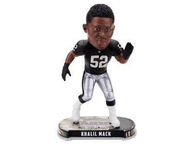 Oakland Raiders Khalil Mack Headline Bobblehead