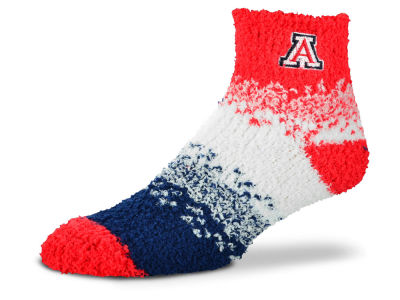 Arizona Wildcats For Bare Feet Marquee Sleep Soft Socks