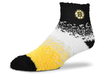 Boston Bruins For Bare Feet Marquee Sleep Soft Socks