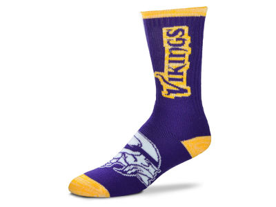 Minnesota Vikings For Bare Feet Crush Socks