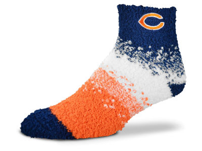 Chicago Bears For Bare Feet Marquee Sleep Soft Socks