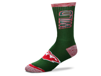 Minnesota Wild For Bare Feet Crush Socks