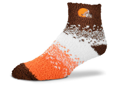 Cleveland Browns For Bare Feet Marquee Sleep Soft Socks