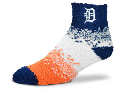 Detroit Tigers For Bare Feet Marquee Sleep Soft Socks