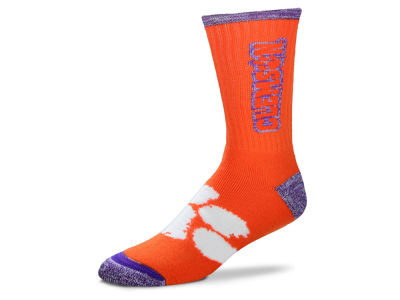 Clemson Tigers For Bare Feet Crush Socks