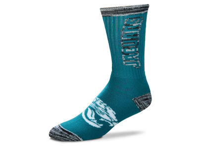 Jacksonville Jaguars For Bare Feet Crush Socks