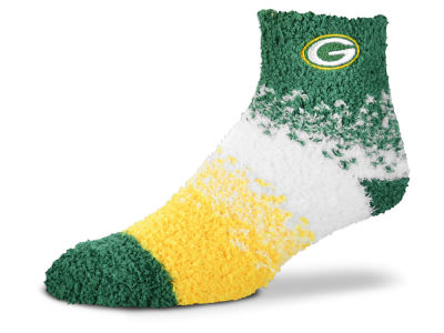Green Bay Packers For Bare Feet Marquee Sleep Soft Socks