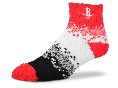 Houston Rockets For Bare Feet Marquee Sleep Soft Socks