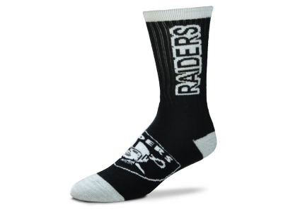 Oakland Raiders For Bare Feet Crush Socks