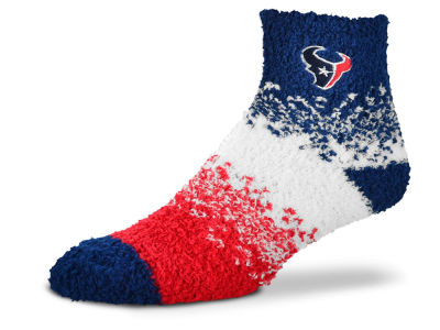 Houston Texans For Bare Feet Marquee Sleep Soft Socks