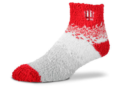 Indiana Hoosiers For Bare Feet Marquee Sleep Soft Socks