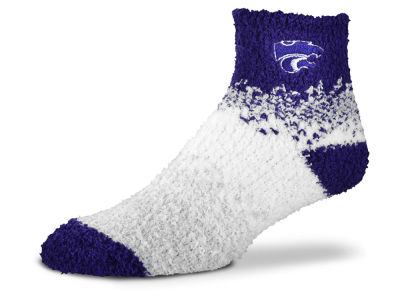 Kansas State Wildcats For Bare Feet Marquee Sleep Soft Socks