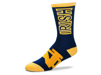 Notre Dame Fighting Irish For Bare Feet Crush Socks