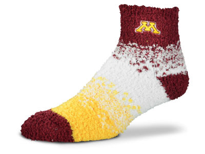 Minnesota Golden Gophers For Bare Feet Marquee Sleep Soft Socks