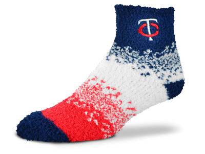 Minnesota Twins For Bare Feet Marquee Sleep Soft Socks