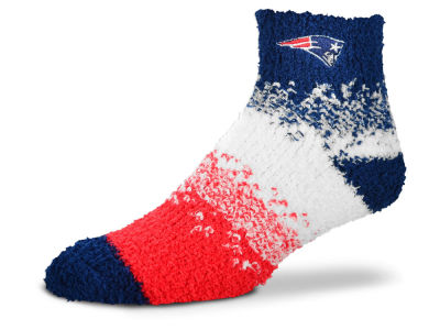 New England Patriots For Bare Feet Marquee Sleep Soft Socks