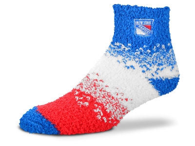 New York Rangers For Bare Feet Marquee Sleep Soft Socks