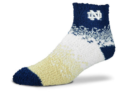 Notre Dame Fighting Irish For Bare Feet Marquee Sleep Soft Socks