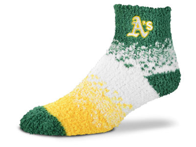 Oakland Athletics For Bare Feet Marquee Sleep Soft Socks