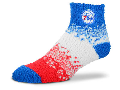 Philadelphia 76ers For Bare Feet Marquee Sleep Soft Socks