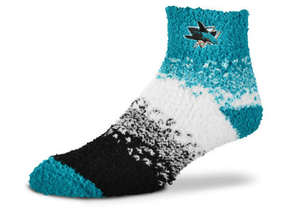 San Jose Sharks For Bare Feet Marquee Sleep Soft Socks