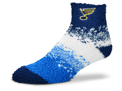 St. Louis Blues For Bare Feet Marquee Sleep Soft Socks