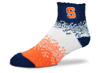 Syracuse Orange For Bare Feet Marquee Sleep Soft Socks