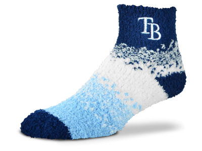 Tampa Bay Rays For Bare Feet Marquee Sleep Soft Socks