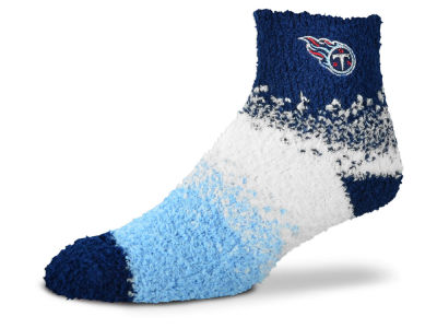 Tennessee Titans For Bare Feet Marquee Sleep Soft Socks