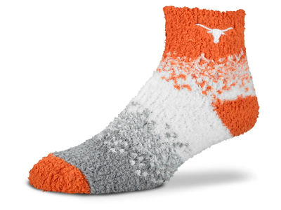 Texas Longhorns For Bare Feet Marquee Sleep Soft Socks
