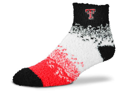 Texas Tech Red Raiders For Bare Feet Marquee Sleep Soft Socks