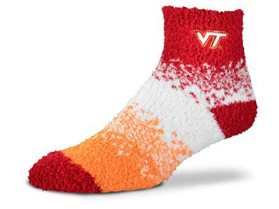 Virginia Tech Hokies For Bare Feet Marquee Sleep Soft Socks
