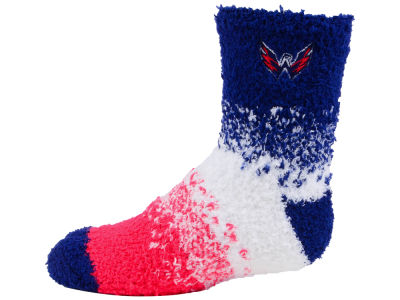 Washington Capitals For Bare Feet Marquee Sleep Soft Socks