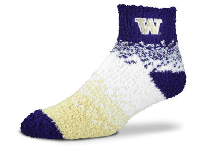 Washington Huskies For Bare Feet Marquee Sleep Soft Socks