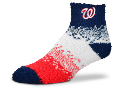 Washington Nationals For Bare Feet Marquee Sleep Soft Socks