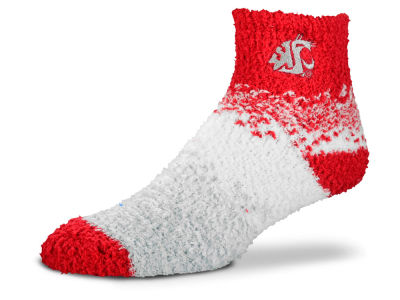 Washington State Cougars For Bare Feet Marquee Sleep Soft Socks