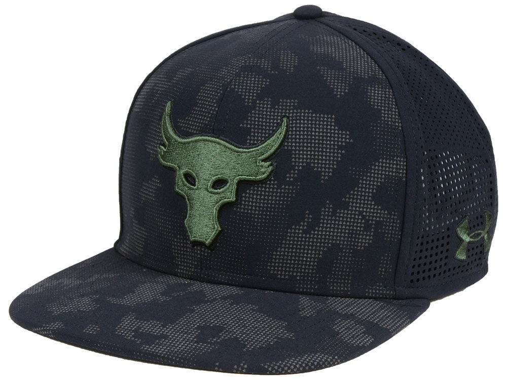 Under Armour Rock Camo Snapback Cap  5a1cb417f66
