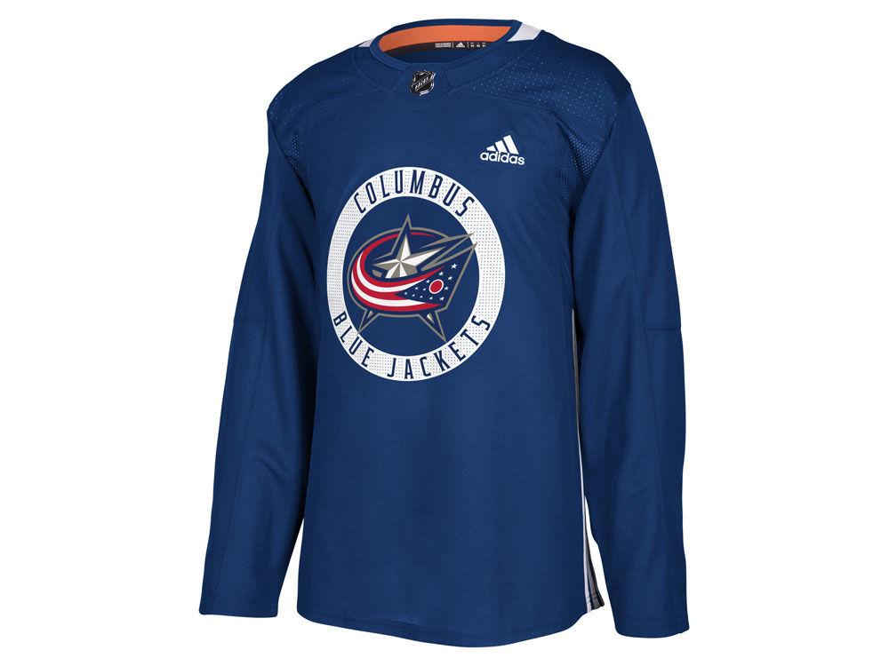 6ccddf09d Columbus Blue Jackets adidas NHL Men s adizero Authentic Practice Pro Jersey