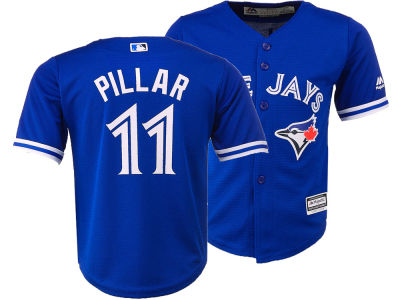 Toronto Blue Jays Kevin Pillar Majestic MLB Infant Player Replica Cool Base Jersey