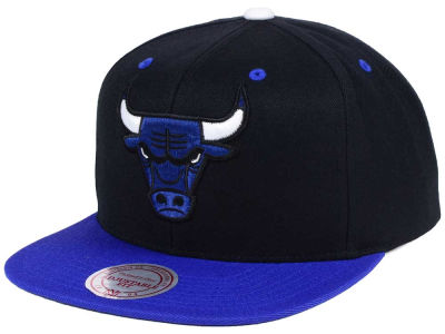 Chicago Bulls Mitchell & Ness NBA Royal Hook Up Snapback Cap