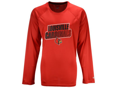 Louisville Cardinals Champion NCAA Men's Practice Squad Long Sleeve T-Shirt
