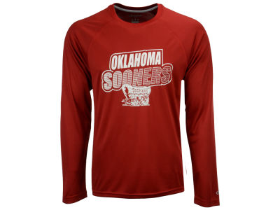 Oklahoma Sooners Champion NCAA Men's Practice Squad Long Sleeve T-Shirt