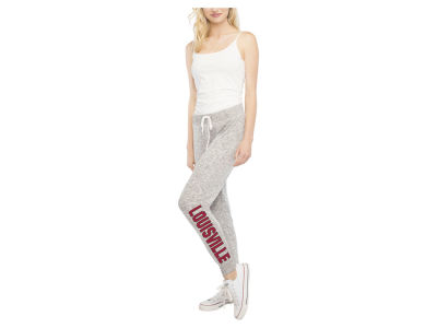 Louisville Cardinals NCAA Women's Cozy Fleece Jogger Pant