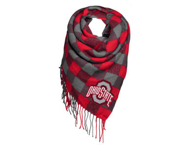 Ohio State Buckeyes Forever Collectibles Blanket Scarf