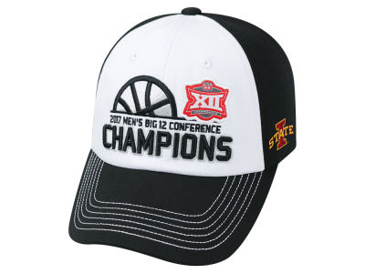 Iowa State Cyclones Top of the World 2017 NCAA Big 12 Tourney Champ Cap