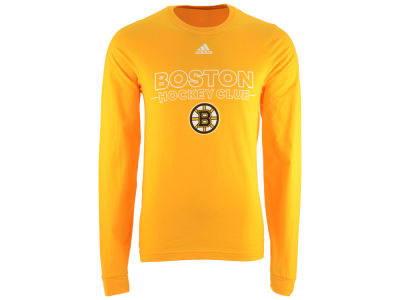 Boston Bruins adidas NHL Men's Frontline Long Sleeve T-shirt